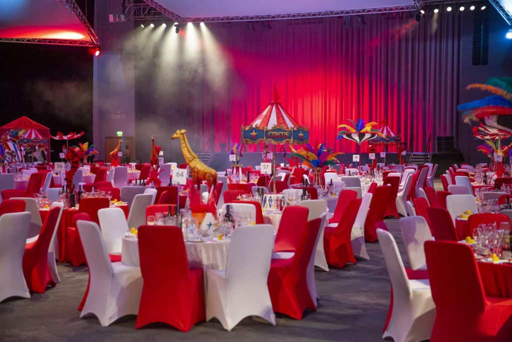 Circus Themed Event for Law Firm