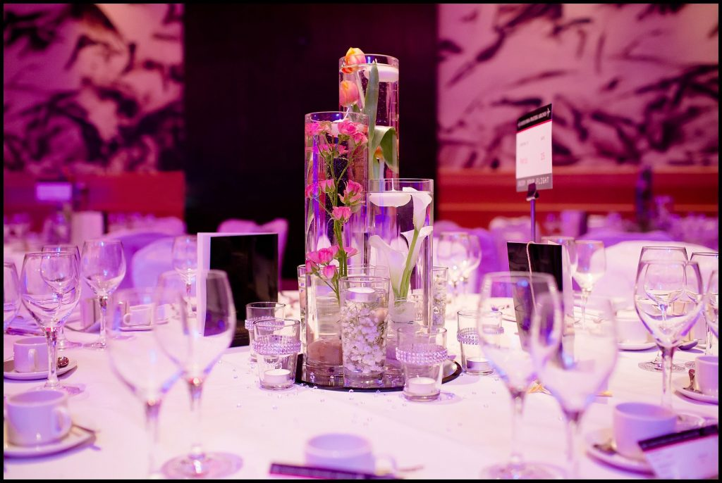 Cluster Vase Table Centres