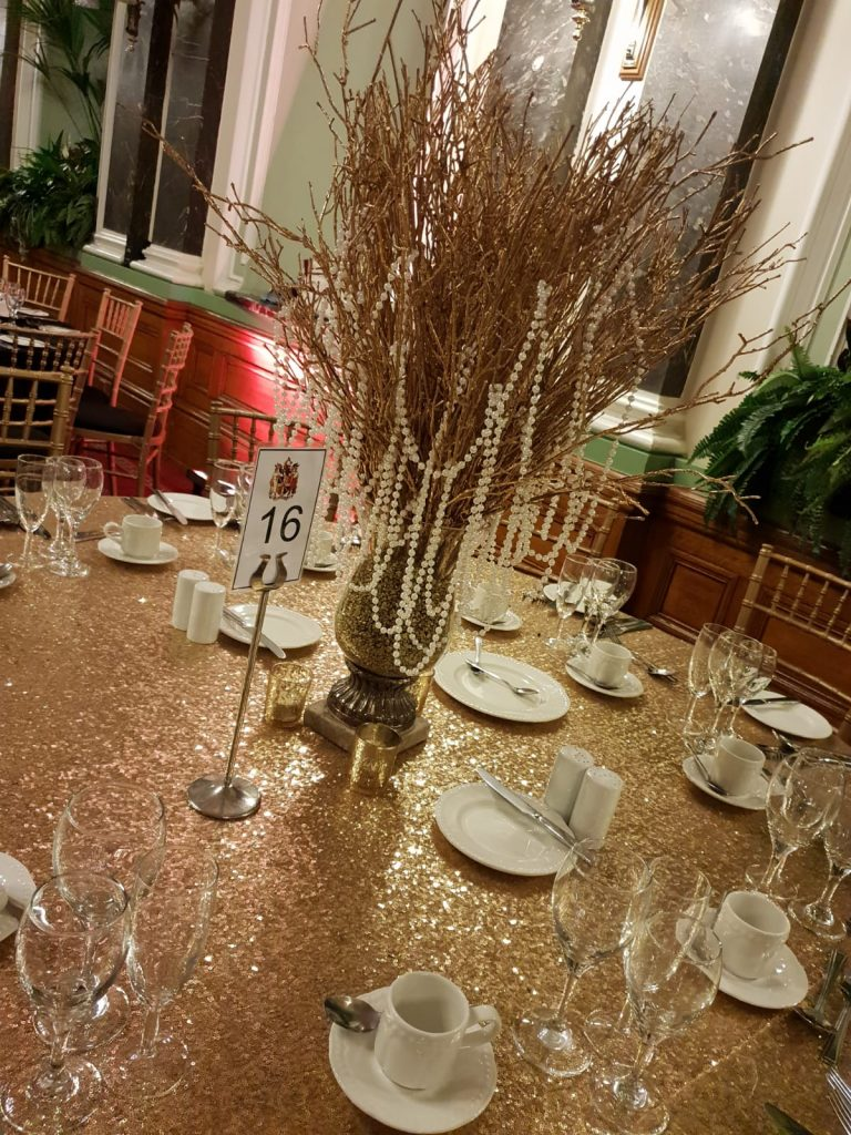Pearl Tree Table Centres