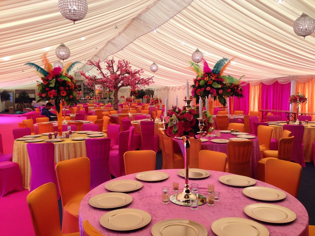 Fresh Floral Table Centres