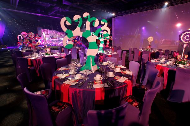 Willy Wonka Theme Table Centres
