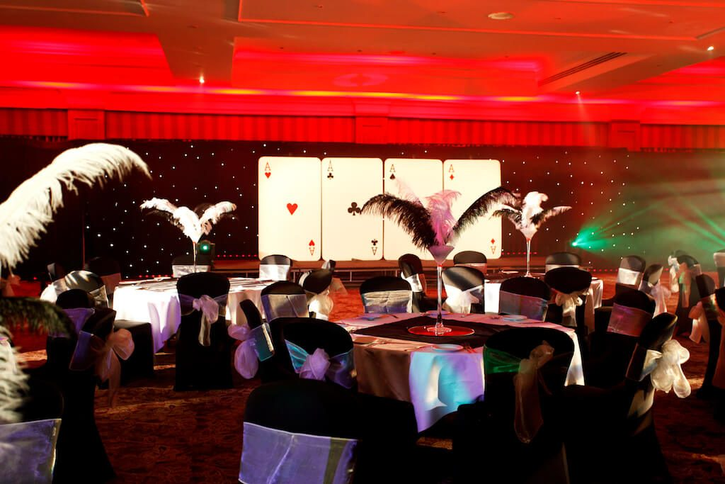 Feather Table Centres