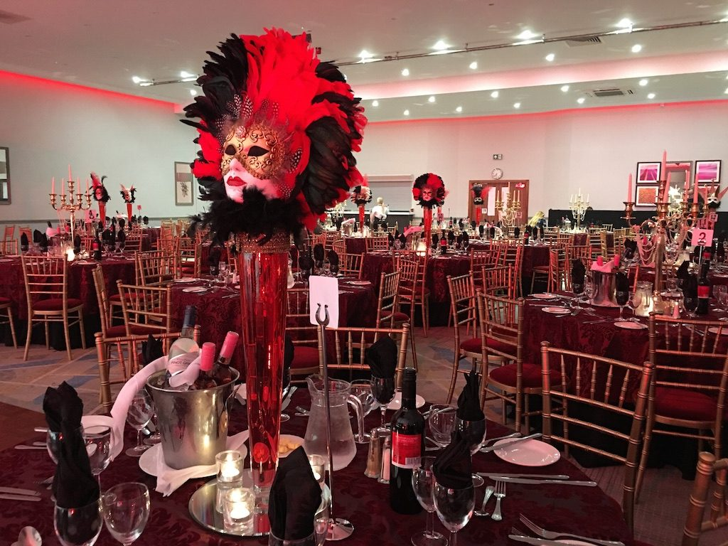 Themed Table Centres