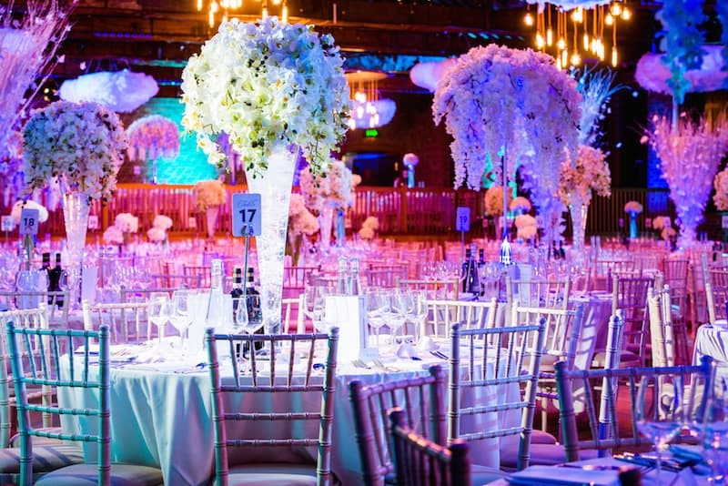 Table Centres Hire