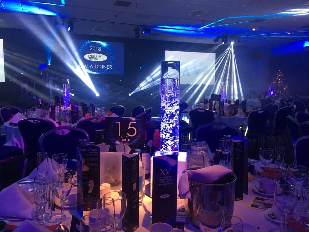 Light Up Table Centres