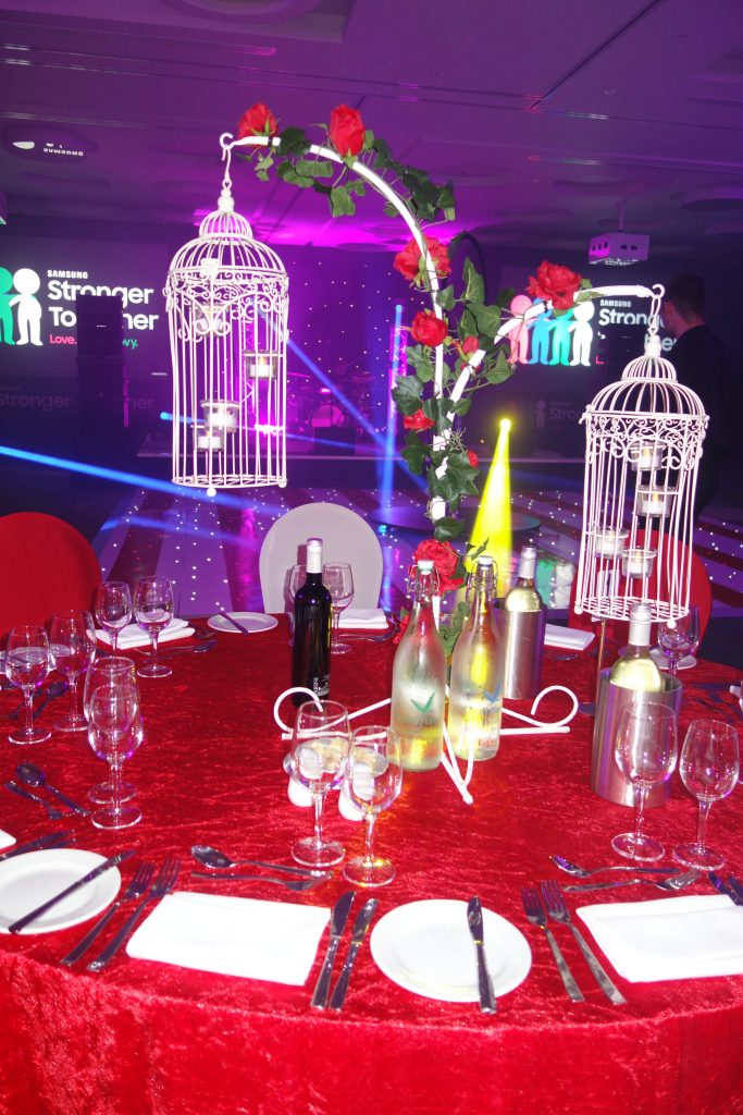 Beauty & the Beast Table Centres