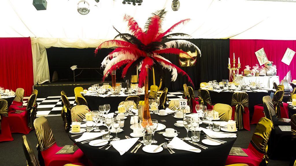 Burlesque Theme Table Centres