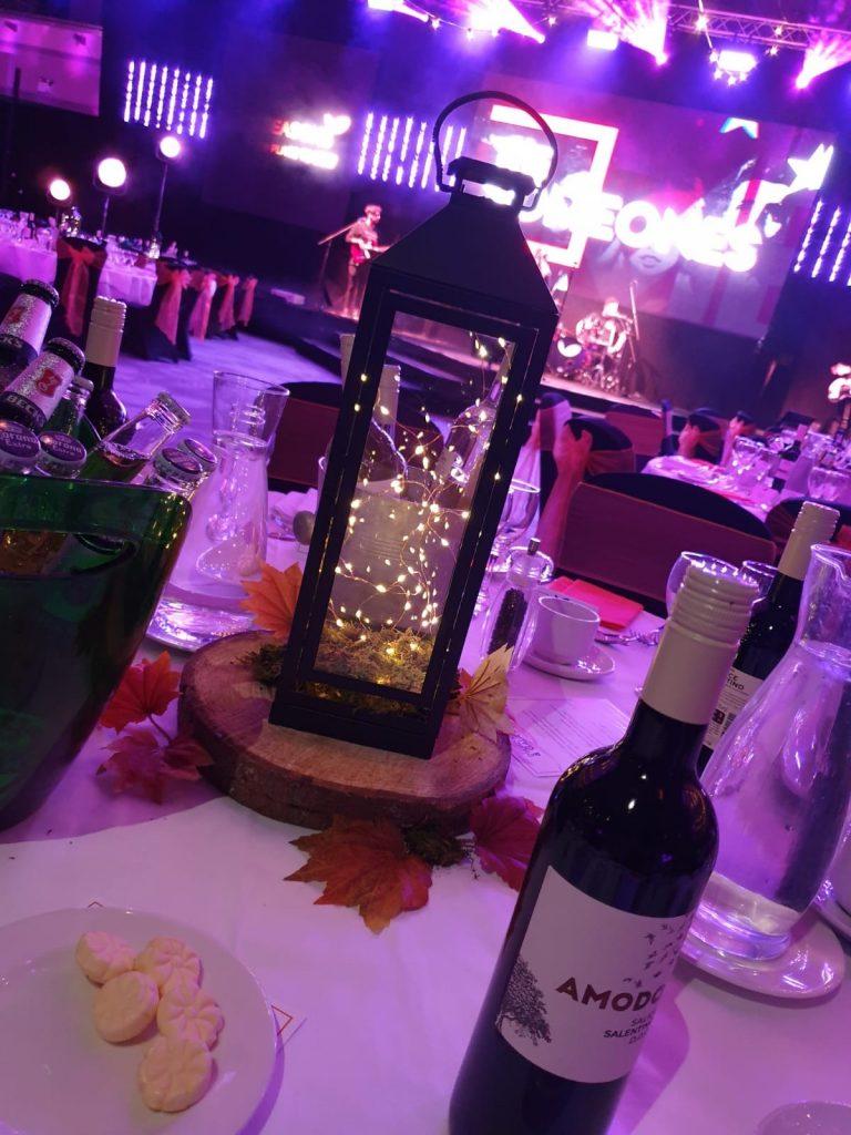 Fairy Light Lantern Table Centres