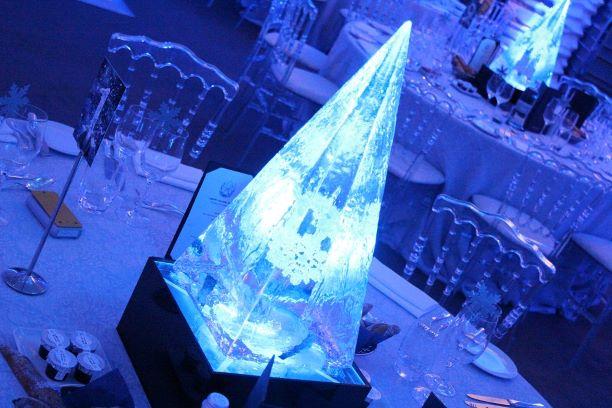 Ice Theme Table Centres