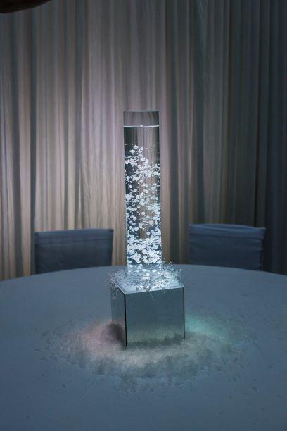 Light Up Bubble Vase Table Centres