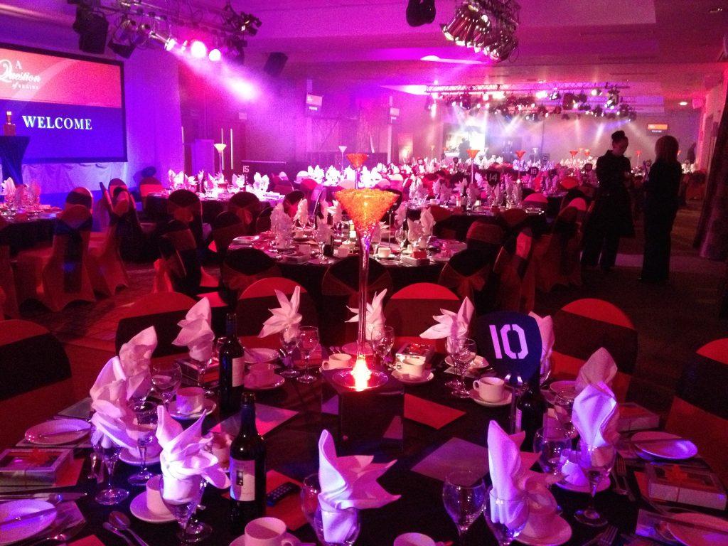Martini Vase Table Centres