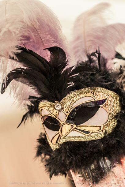 Masquerade Theme Table Centres