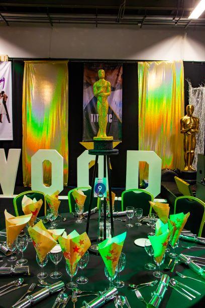 Oscars Hollywood Table Centres