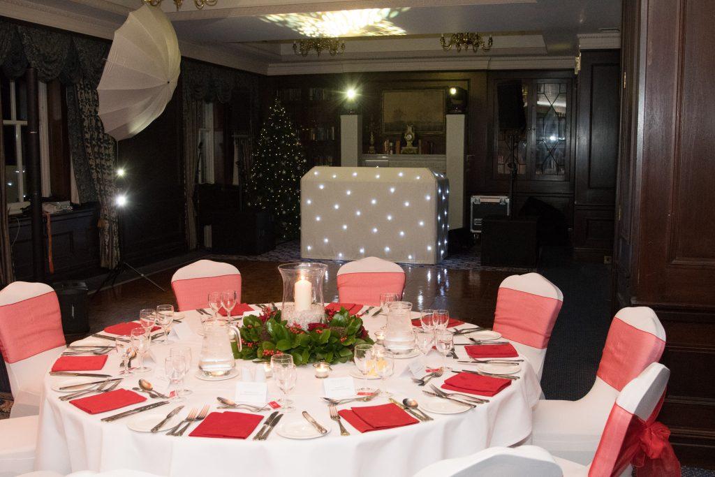 Christmas Theme Table Centres