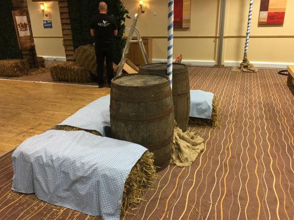 Barrel Tables Hire